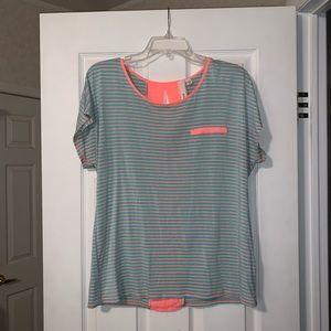 Bright Striped Top